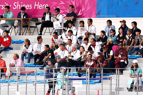 Japan team group (JPN), <br /> SEPTEMBER 26, 2014 - Equestrian : <br /> Eventing Individual Jumping <br /> at Dream Park Equestrian Venue <br /> during the 2014 Incheon Asian Games in Incheon, South Korea. <br /> (Photo by AFLO SPORT)