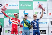 5 etape af Postnord Danmark Rundt <br /> Michael Valgren team Tinkoff vinder af Postnord Danmark Rundt 2016 sammen med Magnus Cord og Mads W&uuml;rtz Schmidt