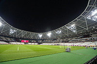 General view of the London Stadium during West Ham United vs Cardiff City, Premier League Football at The London Stadium on 4th December 2018