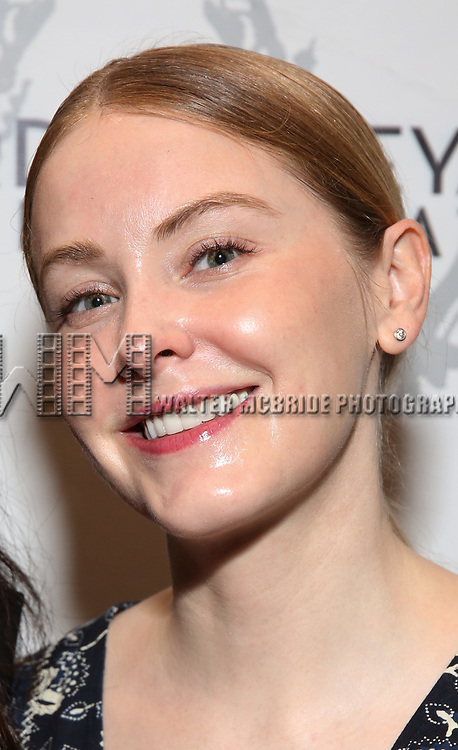 "Kate Robards attending the Opening Night Performance for The Vineyard Theatre production of  ""Do You Feel Anger?"" at the Vineyard Theatre on April 2, 2019 in New York City."