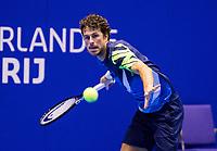 Rotterdam, Netherlands, December 16, 2017, Topsportcentrum, Ned. Loterij NK Tennis, Semifinal men, Robin Haase (NED)<br /> Photo: Tennisimages/Henk Koster