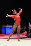 .BILES Simone World Championships Gymnastics Womens All Around Final  2015 SSE Hydro Arena.BILES Simone.