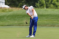 Bethesda, MD - July 2, 2017: Kevin Na fairway shot during final round of professional play at the Quicken Loans National Tournament at TPC Potomac  in Bethesda, MD, July 2, 2017.  (Photo by Elliott Brown/Media Images International)