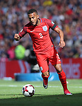 England's Ryan Bertrand in action during the FIFA World Cup Qualifying match at Hampden Park Stadium, Glasgow Picture date 10th June 2017. Picture credit should read: David Klein/Sportimage