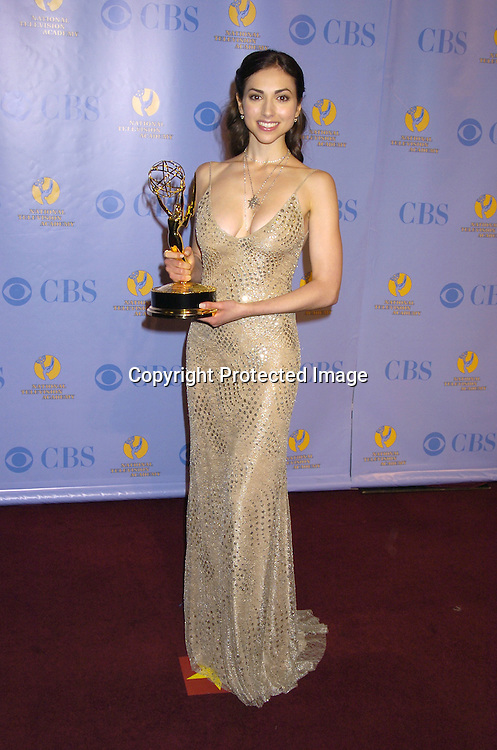 Eden Riegel ..at The 32nd Annual Daytime Emmy Awards Press Room ..at Radio City Music Hall on May 20, 2005...Photo by Robin Platzer, Twin Images
