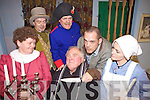 Getting ready for opening night on Friday 15th April were cast members from The Abbeyfeale Drama Group who will be preforming 'The Bishops Candlesticks' in The Glorach Theatre in Abbeyfeale. Pictured l-r: Mary Healy, Jimmy Cahill, John O'Sullivan, John O'Shea, Connor Dennison and Carmel O'Donnell.