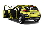 Car images close up view of a 2019 Hyundai Kona Limited DCT 5 Door SUV doors