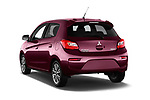 Car pictures of rear three quarter view of 2017 Mitsubishi Space-Star Instyle 5 Door Hatchback Angular Rear