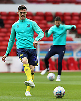 Blackburn Rovers' Darragh Lenihan during the pre-match warm-up <br /> <br /> Photographer David Shipman/CameraSport<br /> <br /> The EFL Sky Bet Championship - Nottingham Forest v Blackburn Rovers - Saturday 13th April 2019 - The City Ground - Nottingham<br /> <br /> World Copyright © 2019 CameraSport. All rights reserved. 43 Linden Ave. Countesthorpe. Leicester. England. LE8 5PG - Tel: +44 (0) 116 277 4147 - admin@camerasport.com - www.camerasport.com