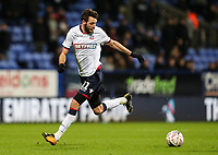 Bolton Wanderers' Will Buckley<br /> <br /> Photographer Andrew Kearns/CameraSport<br /> <br /> Emirates FA Cup Third Round - Bolton Wanderers v Walsall - Saturday 5th January 2019 - University of Bolton Stadium - Bolton<br />  <br /> World Copyright &copy; 2019 CameraSport. All rights reserved. 43 Linden Ave. Countesthorpe. Leicester. England. LE8 5PG - Tel: +44 (0) 116 277 4147 - admin@camerasport.com - www.camerasport.com