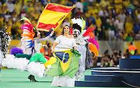 RIO DE JANEIRO, 30.06.2013 - COPA DAS CONFEDERAÇÕES - FINAL - BRASIL X ESPANHA - Torcedores durante partida da final da Copa das Confederações Estádio do Maracanã, na zona norte do Rio de Janeiro, neste domingo, 30. (Foto: Vanessa Carvalho / Brazil Photo Press)