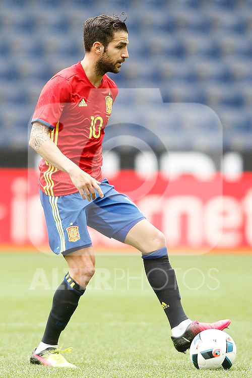 Spain's Cesc Fabregas during friendly match. June 1,2016.(ALTERPHOTOS/Acero)