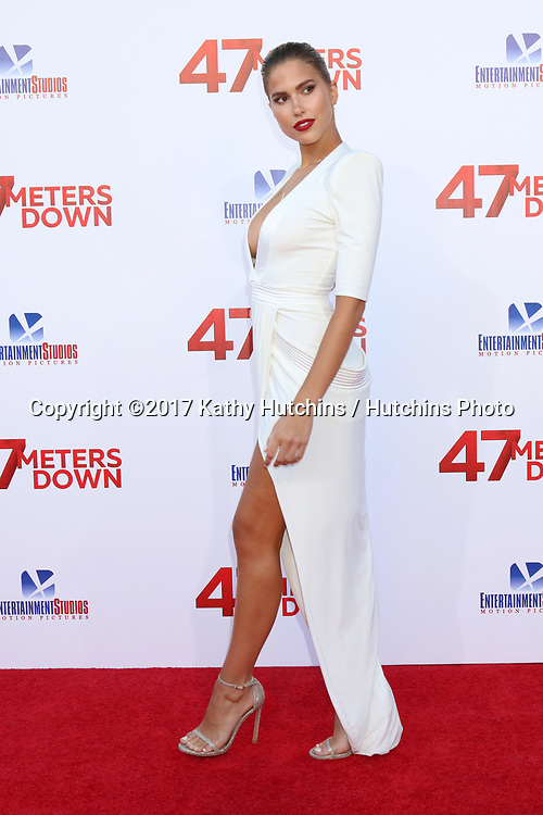 "LOS ANGELES - JUN 12:  Kara Del Toro at the ""47 Meters Down"" Premiere at the Village Theater on June 12, 2017 in Westwood, CA"