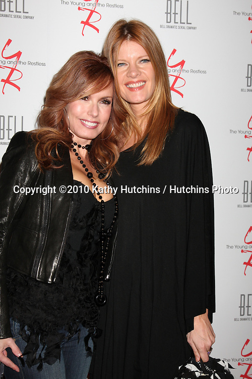 Tracey E. Bregman & Michelle Stafford.arrivng at The Young & The Restless 37th Anniversary Dinner.Via Allorro.Beverly Hills, CA.March 9, 2010.©2010 Kathy Hutchins / Hutchins Photo....