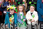 St. Patrick's Day Parade Tralee : Enjoying the  Parade Jordan Moriarty, Nichola Leen, , Alannah Moriarty