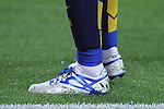 20.09.2015 Barcelona.Spanish la Liga BBVA day 4. Picture show messi's shoes during game between FC Barcelona against Levante at Camp Nou