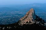 Italie. Italia. Sardaigne. Sardinia.Vue depuis le Monte Oro (650 m) dominant la plaine de l'Ogliastra