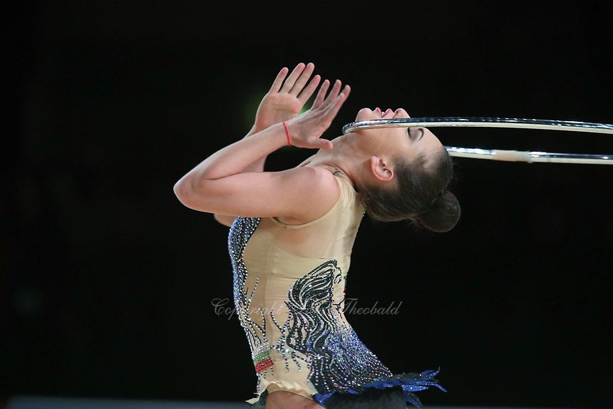 Katrin Taseva of Bulgaria performs at Thiais Grand Prix on March 25, 2018.