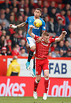 James Tavernier and Adam Rooney