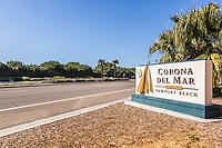 Corona Del Mar Signage