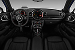 Stock photo of straight dashboard view of 2019 MINI Clubman John-Cooper-Works-ALL4 5 Door Wagon Dashboard