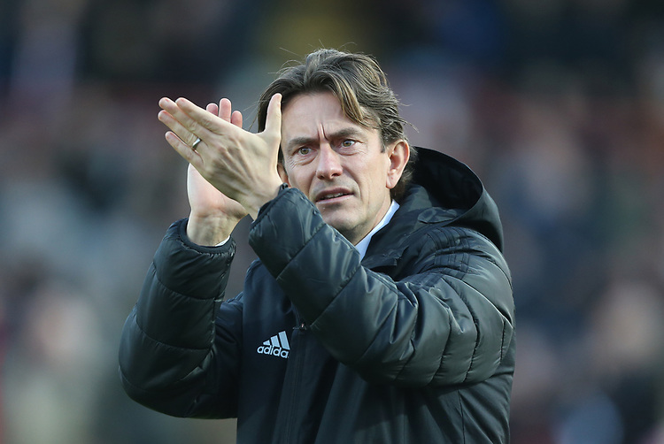 Brentford manager Thomas Frank<br /> <br /> Photographer Rob Newell/CameraSport<br /> <br /> The EFL Sky Bet Championship - Brentford v Bolton Wanderers - Saturday 22nd December 2018 - Griffin Park - Brentford<br /> <br /> World Copyright © 2018 CameraSport. All rights reserved. 43 Linden Ave. Countesthorpe. Leicester. England. LE8 5PG - Tel: +44 (0) 116 277 4147 - admin@camerasport.com - www.camerasport.com