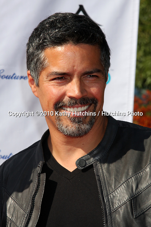 Esai Morales.arrives at the Birgit C. Muller Fashion Show at.Chaves Ranch in.Los Angeles, CA on.July 11, 2010.©2010 Kathy Hutchins / Hutchins Photo.....