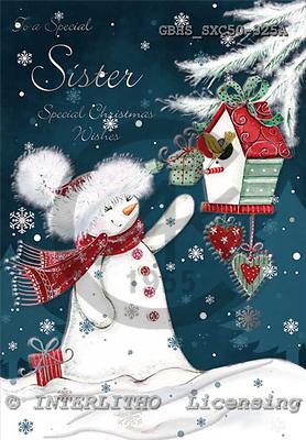 John, CHRISTMAS ANIMALS, paintings, GBHSSXC50-325A,#XA# Weihnachten, Navidad, illustrations, pinturas