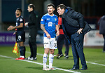 Dundee v St Johnstone&hellip;29.12.18&hellip;   Dens Park    SPFL<br />Sainst manager Tommy Wright gives instructions to Matty Kennedy<br />Picture by Graeme Hart. <br />Copyright Perthshire Picture Agency<br />Tel: 01738 623350  Mobile: 07990 594431