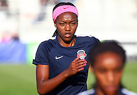 Boyds, MD - Saturday May 07, 2016: Washington Spirit forward Cheyna Williams (20) before a regular season National Women's Soccer League (NWSL) match at Maureen Hendricks Field, Maryland SoccerPlex. Washington Spirit tied the Portland Thorns 0-0.