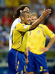 Henrik Larsson at Euro 2008. Greece-Sweden 06102008, Salzburg, Austria