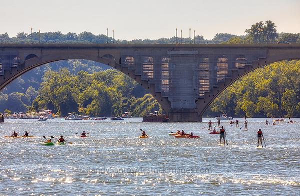 Georgetown Key Bridge Washington DC