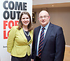 Stonewall and Liberal Democrats LGBTQ fringe meeting.<br /> Bournemouth, Great Britain <br /> 17th September 2017. <br /> <br /> <br /> Jo Swinson <br /> Deputy Leader of the Liberal Democrats <br /> with Jack Gilbert - LibDem Candidate Tower Hamlets <br /> <br /> Photograph by Elliott Franks <br /> Image licensed to Elliott Franks Photography Services