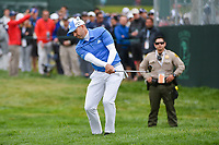 Sergio Garcia (ESP) chips on to 6 during round 2 of the 2019 US Open, Pebble Beach Golf Links, Monterrey, California, USA. 6/14/2019.<br /> Picture: Golffile | Ken Murray<br /> <br /> All photo usage must carry mandatory copyright credit (© Golffile | Ken Murray)