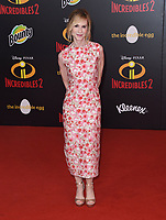 05 June 2018 - Hollywood, California - Holly Hunter . Disney Pixar's &quot;Incredibles 2&quot; Los Angeles Premiere held at El Capitan Theatre. <br /> CAP/ADM/BT<br /> &copy;BT/ADM/Capital Pictures