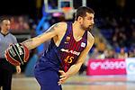League ACB-ENDESA 2017/2018 - Game: 11.<br /> FC Barcelona Lassa vs Iberostar Tenerife: 91-93.<br /> Adrien Moerman.