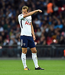 An unhappy Harry Kane of Tottenham Hotspur during the premier league match at the Wembley Stadium, London. Picture date 16th September 2017. Picture credit should read: Robin Parker/Sportimage