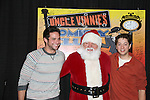 Brandon Barash & Bradford Anderson & Santa - General Hospital - appeared by way of Coastal Entertainment on December 6, 2009 at Uncle Vinny's/Ferrera's Cafe in Point Pleasant, New Jersey. They sang for the fans, answered questions, signed photos and posed for photos. (Photos by Sue Coflin/Max Photos)