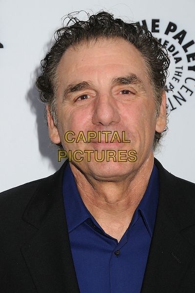 """Michael Richards.""""Television: Out Of The Box"""" Museum Exhibit created by Warner Bros. Television Group held at The Paley Center, Beverly Hills, California, USA..April 12th, 2012.headshot portrait black blue   .CAP/ADM/BP.©Byron Purvis/AdMedia/Capital Pictures."""