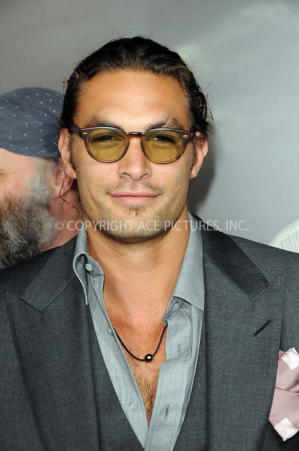 WWW.ACEPIXS.COM . . . . .  ....August 11 2011, LA....Actor Jason Momoa arriving at the premiere 'Conan The Barbarian' on August 11, 2011 in Los Angeles, California....Please byline: PETER WEST - ACE PICTURES.... *** ***..Ace Pictures, Inc:  ..Philip Vaughan (212) 243-8787 or (646) 679 0430..e-mail: info@acepixs.com..web: http://www.acepixs.com