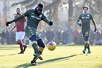 Gol Mario Balotelli of Brescia Calcio <br /> Roma 30/12/2019 Stadio Giulio Onesti <br /> Football  Friendly match <br /> Trastevere Calcio - Brescia FC <br /> Photo Andrea Staccioli / Insidefoto