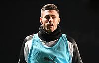 4th February 2020; Kassam Stadium, Oxford, Oxfordshire, England; English FA Cup Football; Oxford United versus Newcastle United; Fabian Schar of Newcastle warms up