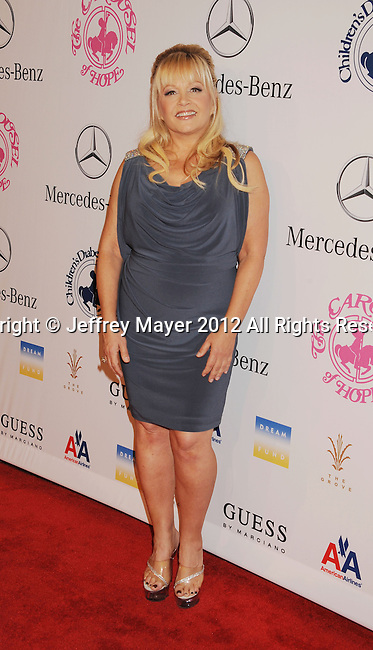 BEVERLY HILLS, CA - OCTOBER 20: Charlene Tilton arrives at the 26th Anniversary Carousel Of Hope Ball presented by Mercedes-Benz at The Beverly Hilton Hotel on October 20, 2012 in Beverly Hills, California.