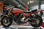 Mar 26, 2010 - Tokyo, Japan - A Kawasaki Z-1 customized by Bull Dock is on display during the 37th Tokyo Motorcycle Show at Tokyo Big Sight on March 26, 2010. The event is the Japan's largest motorcycle exhibition and it will be held until March 28 this year. (Photo Laurent Benchana/Nippon News)