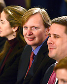 "Jim Messina, Campaign Manager, Obama for America attends the announcement ceremony where United States President Barack Obama named White House Chief of Staff Jacob ""Jack"" Lew as Secretary of the Treasury to replace Timothy Geithner in the East Room of the White House in Washington, D.C. on Thursday, January 10, 2013..Credit: Ron Sachs / CNP"