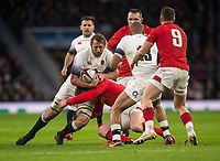 Englands' Chris Robshaw in action during todays match<br /> <br /> Photographer Bob Bradford/CameraSport<br /> <br /> NatWest Six Nations Championship - England v Wales - Saturday 10th February 2018 - Twickenham Stadium - London<br /> <br /> World Copyright &copy; 2018 CameraSport. All rights reserved. 43 Linden Ave. Countesthorpe. Leicester. England. LE8 5PG - Tel: +44 (0) 116 277 4147 - admin@camerasport.com - www.camerasport.com
