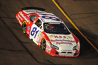 Apr 11, 2008; Avondale, AZ, USA; NASCAR Nationwide Series driver D.J. Kennington during the Bashas Supermarkets 200 at the Phoenix International Raceway. Mandatory Credit: Mark J. Rebilas-