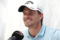 Haydn Porteous (RSA) in media interview during previews ahead of the Magical Kenya Open, Karen Country Club, Nairobi, Kenya. 12/03/2019<br /> Picture: Golffile | Phil Inglis<br /> <br /> <br /> All photo usage must carry mandatory copyright credit (&copy; Golffile | Phil Inglis)