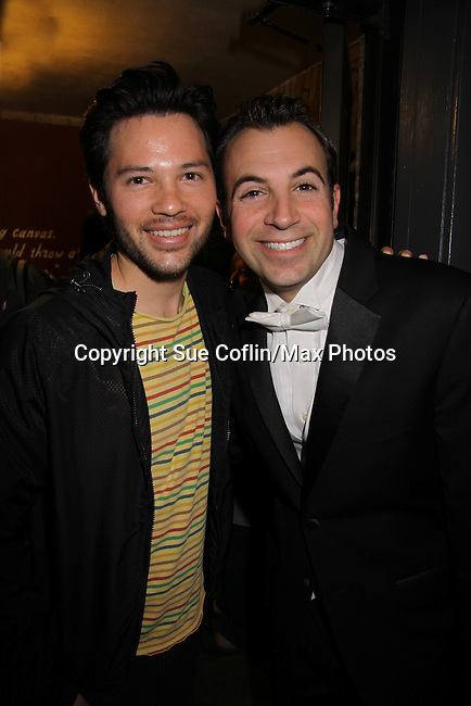 One Life To Live Jason Tam and Anthony Wilkinson at My Big Gay Italian Wedding on March 18, 2011 (also 3-17- & 3-20) at St. Luke's Theatre, New York City, New York. (Photo by Sue Coflin/Max Photos)