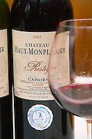 Chateau Haut Monplaisir, cuvee Prestige, Cahors, France Cahors Lot Valley France